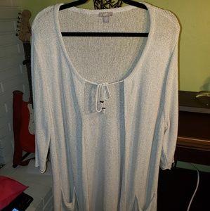 J. Jill Cardigan Sweater,  Size 2X